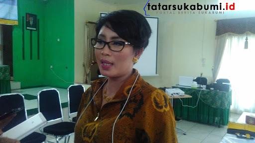 Ketua Apindo Sukabumi (Asosiasi Pengusaha Indonesia) Ning Wahyu Astuti// Foto : Rapik Utama