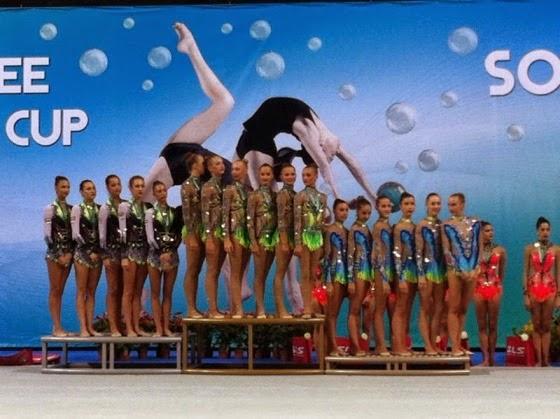 CDM Ginnastica Ritmica – Farfalle azzurre ancora sul podio di Sofia