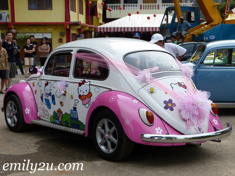 modified Volkswagen Beetle