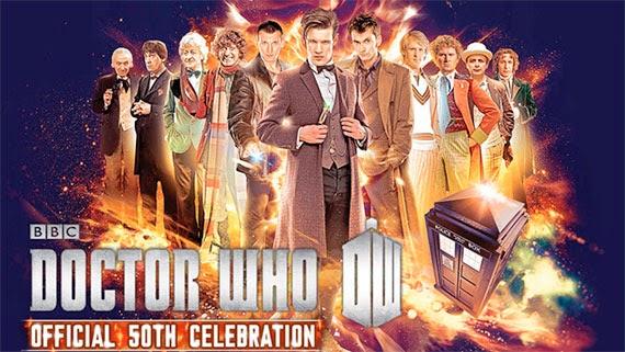 Doctor Who 50 aniversario, todos los doctores