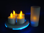 Wireless Rechargeable Tea Light :: Date: Nov 29, 2008, 10:37 AMNumber of Comments on Photo:0View Photo