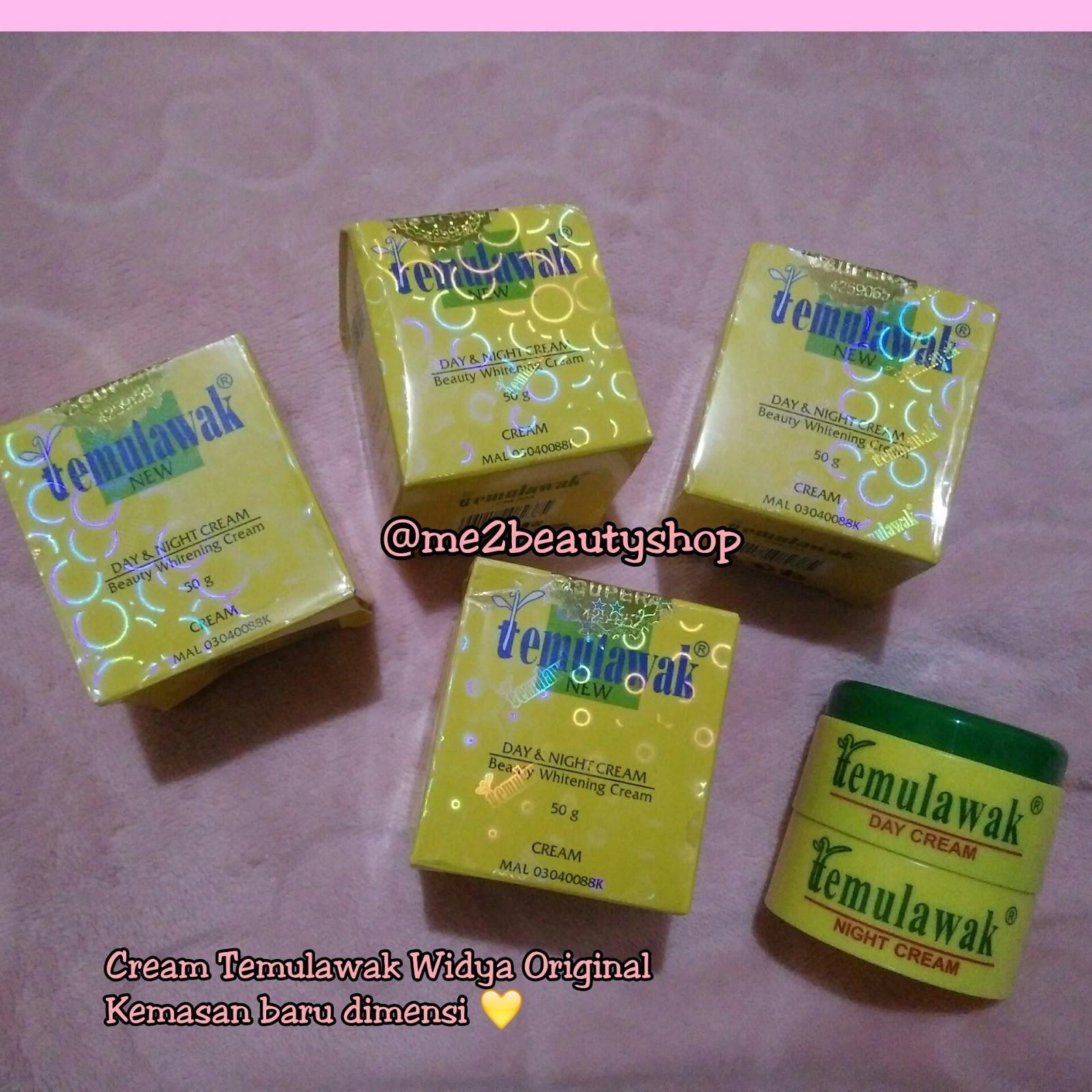Meme Beauty Shop Banjarmasin Cream Temulawak Kuning Original Bedak