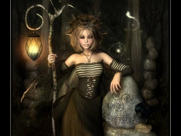 Lady Of Black Underground Kingdom, Magick Warriors 5