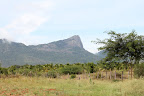 Western Ghats seen from Tapovan