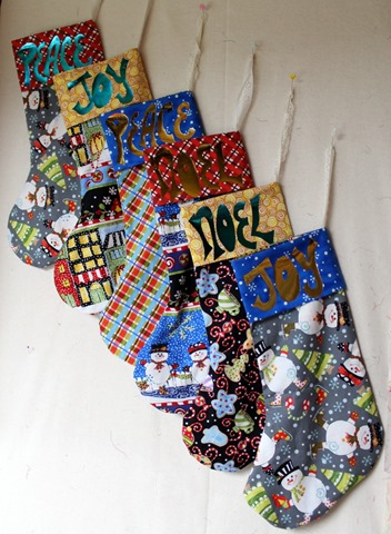 Christmas Stockings - DecoFoil