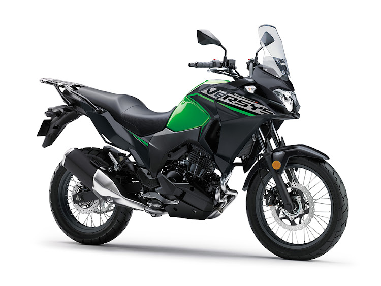 The R40,000 to R90,000 price bracket offers a number of motorcycles that will commute at freeway speeds economically, including the Kawasaki Versys 300 priced at R80,000. Picture: SUPPLIED