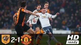 Hull City vs Manchester United EFL Cup Match Highlight