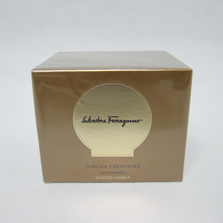 Salvatore Ferragamo NEW Tuscan Creations La Commedia Scented Candle