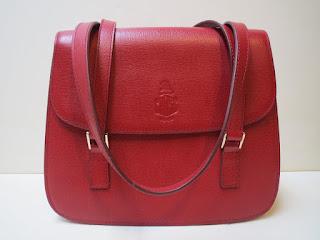 Mark Cross Textured Shoulder Bag