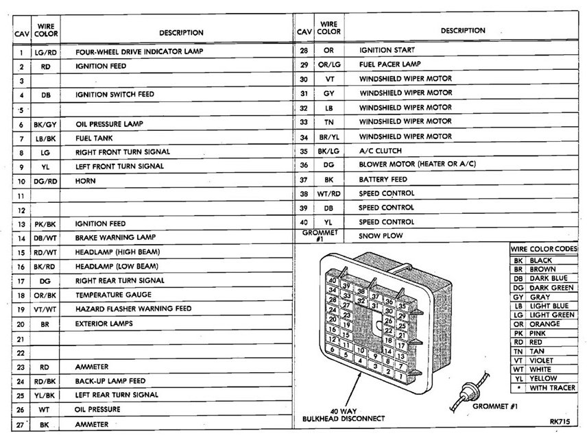 84 D150 Wiring Diagram For - Wiring Diagram