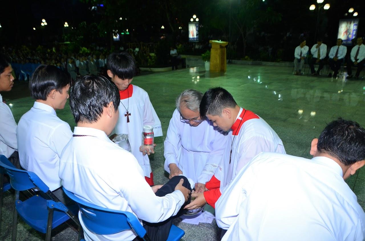 Giáo xứ Tuy Hòa cử hành thứ năm Tuần Thánh