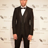 WWW.ENTSIMAGES.COM -  Tom Hughes   arriving at       IWC Schaffhausen and BFI London Film Festival - private dinner at Battersea Evolution, London October 7th 2014Swiss watch brand and British Film Institute host party to celebrate their three year partnership.                                                Photo Mobis Photos/OIC 0203 174 1069