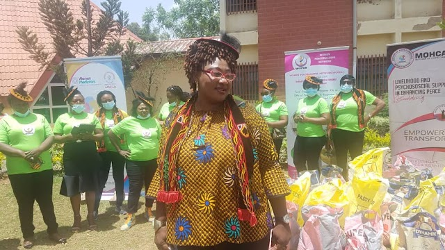 Women peace builders network Empowers IDPs
