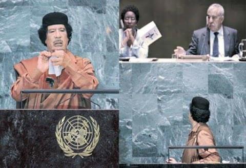 PEMIMPIN LIBYA YANG DIGERUNI MUSUH ISLAM