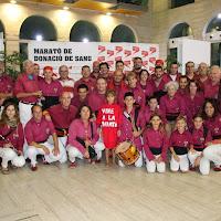 Pilar i donació a la Marató de Donació de sang  24-09-14 - IMG_4503.JPG