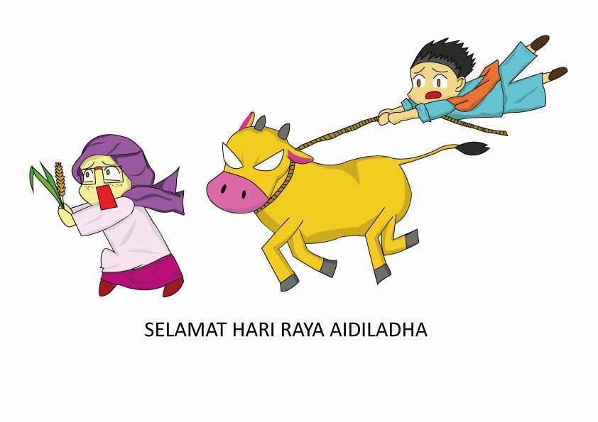 hari raya haji celebration