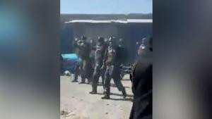 Graphic video showing Taliban fighters execute 22 Afghan special forces as they try to surrender after US forces left Afghanistan