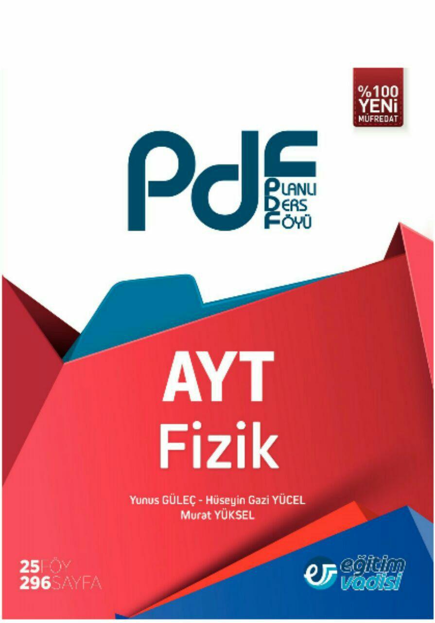 Eğitim Vadisi AYT Fizik Planlı Ders Föyü (2019-2020)