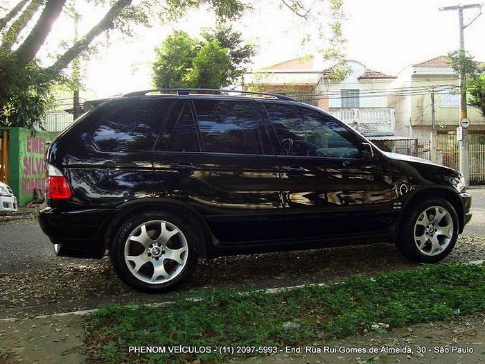 BMW X5 Sport 2002 V-8 4x4 Blidada IIIA - lateral
