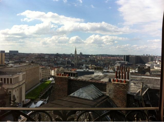 Bruxelles vue de haut