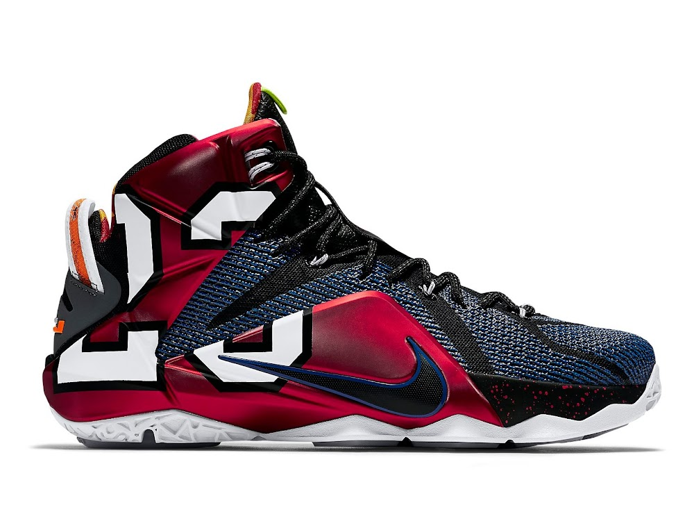 newest b720f edc3b The Complete Makeover of the WHAT THE LeBron 12 ...
