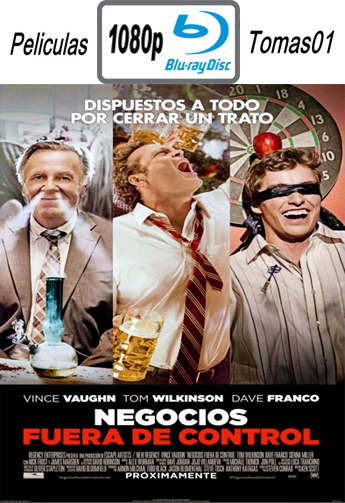Negocios Fuera de Control (Unfinished Business) (2015) BRRip 1080p