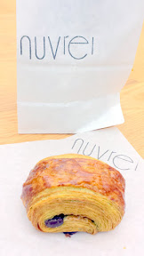 Nuvrei gave you a choice at Feast 2015 Brunch Village between a little bagged to take home Matcha Chocolate Crosisant, Chewy Chocolate Cookie, Mini-Canele, Chocolate Croissant, or Matcha Chocolate Almond Croissant
