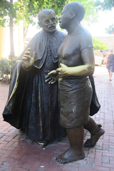 Statue San Pedro Claver