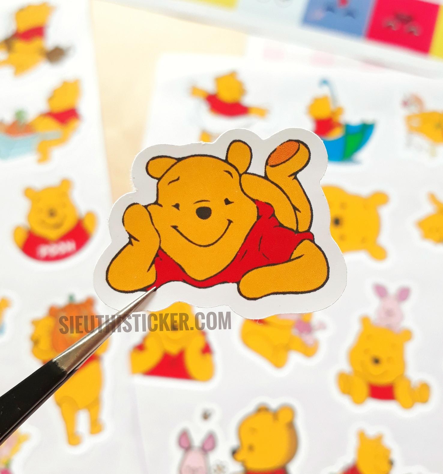 sticker giấy trang trí sổ tay