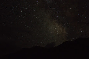 Clear sky and stars in Golaghmuli, Ghizer