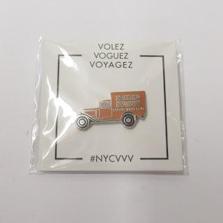 Louis Vuitton X Pintrill Volez Voguez Voyagez Truck Pin
