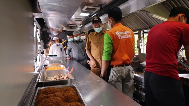 Pertama Di Luar Jawa! Pemerintah Kota Payakumbuh bersama ACT Launching Humanity Food Bus