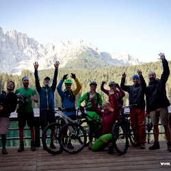 Videoshooting mit Flyer in den Dolomiten 05.08.14