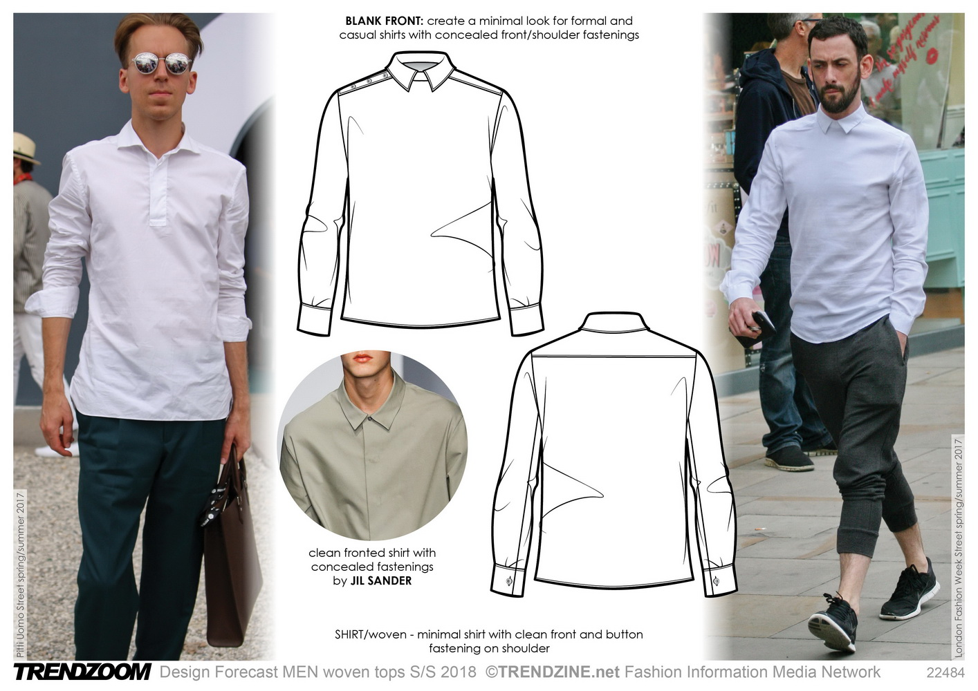 S Formal Shirts Designs | Trendzoom Design Forecast Men Shirts Woven Tops S S 18 Tendenze