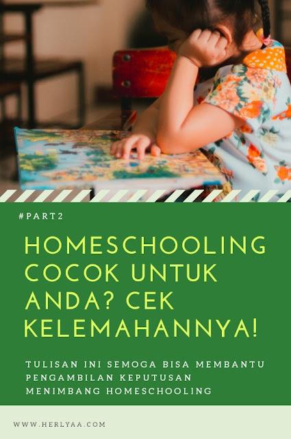 Kelemahan homeschooling