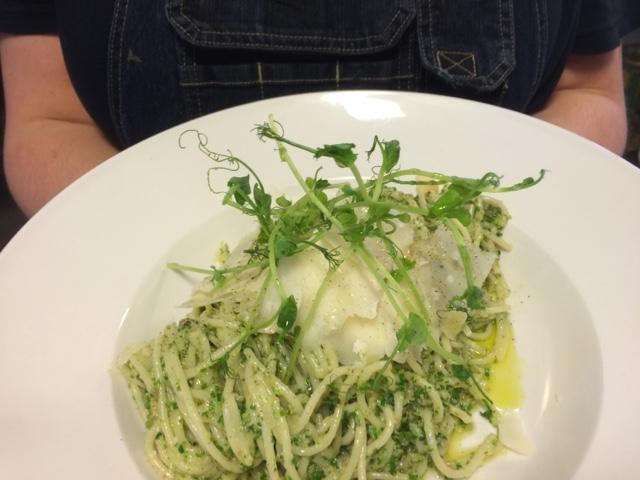 Var dags mat - Pasta med grönkålspesto