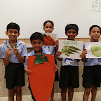 Veggies Day at WIS Pawan Baug Primary Section (2017-18)
