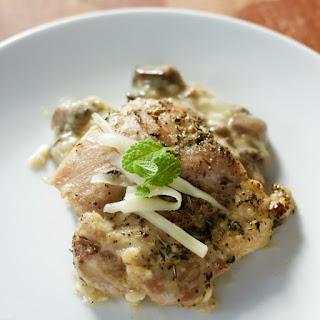 Mushroom & Swiss Chicken Thighs