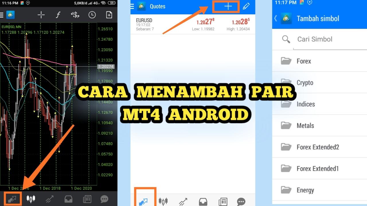 Cara Menambah Pair Di Mt4 Android Mancing Mania Kali Jember