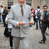 WWW.ENTSIMAGES.COM -  Harold Tillman    at           LFW - Somerset House Courtyard Sunday September 14th 2014                                              Photo Mobis Photos/OIC 0203 174 1069