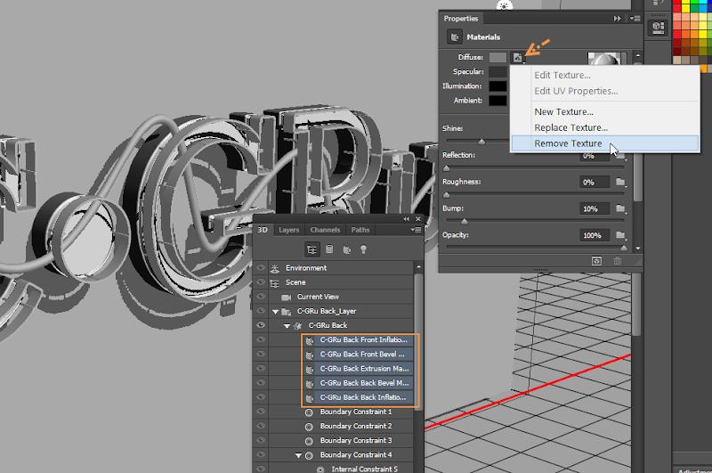 Photoshop - เทคนิคการสร้างตัวอักษร 3D Glowing แบบเนียนๆ ด้วย Photoshop 3dglow31