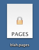 Pages 09 locked document icon