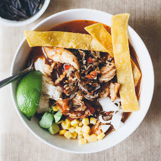 Tortilla Soup with Wild Rice.