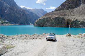 The other side of Attabad Lake