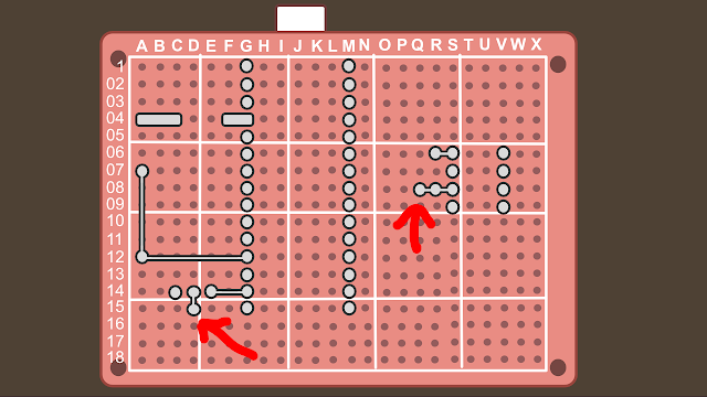 Synth build guide MIDI circuit 8
