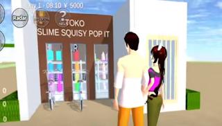 ID Toko POP IT Smile Squisy Di Sakura School Simulator
