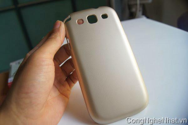Ốp lưng Galaxy S3 (SC-06D) cứng chống xước