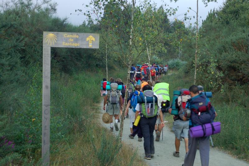 El Camino de Santiago, batiendo records