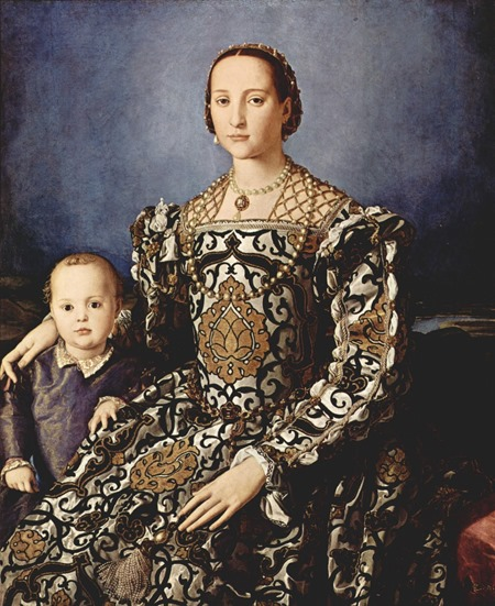 Portrait of Eleanor of Toledo with her Son Giovanni (1545-1546)