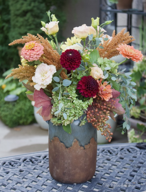 September Bouquet- www.gildedbloom.com